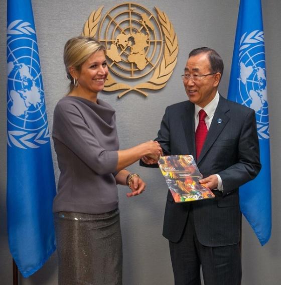 Máxima en la ONU