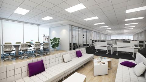 Poca tolerancia para la densidad en las oficinas en Alemania